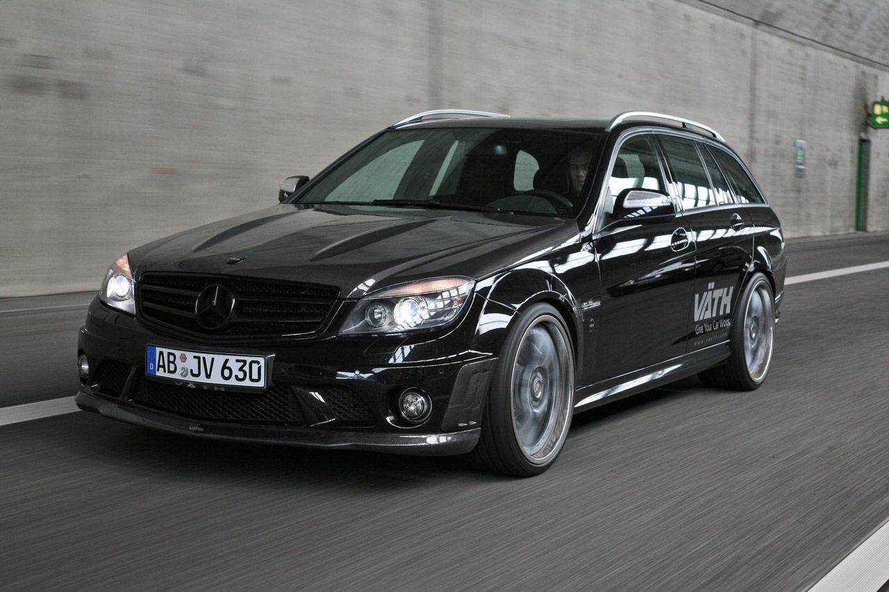 The latest project from the car tuning company vath is the mercedes benz amg estate nicknamed the