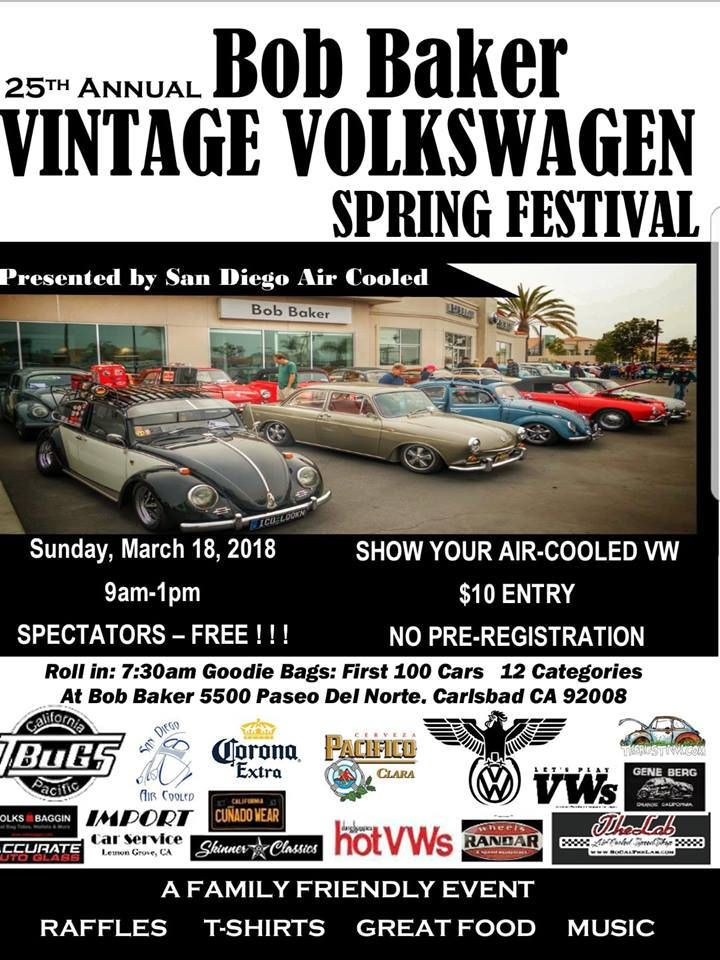 25th Annual Bob Baker Vintage VW Spring Festival