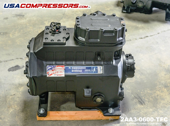 Copeland 2aa3 0600 Tfc Reciprocating Compressor Compressor Electronic Products
