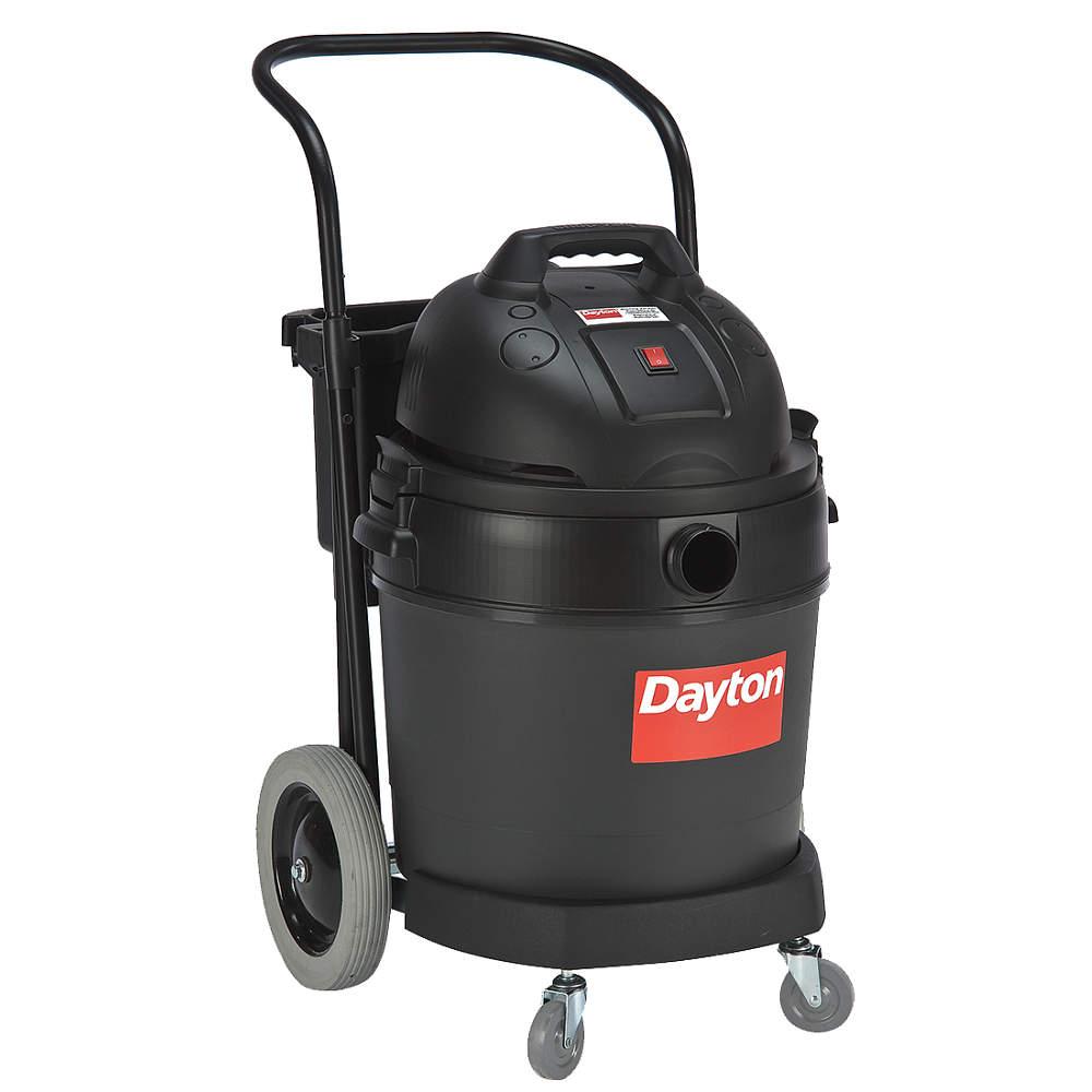 Dayton 16 gal. Commercial 4 HP Wet/Dry Vacuum 12 Amps HEPA