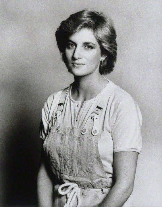 Just as lovely and Elegant in Overalls than if She were Dressed in an Evening Gown