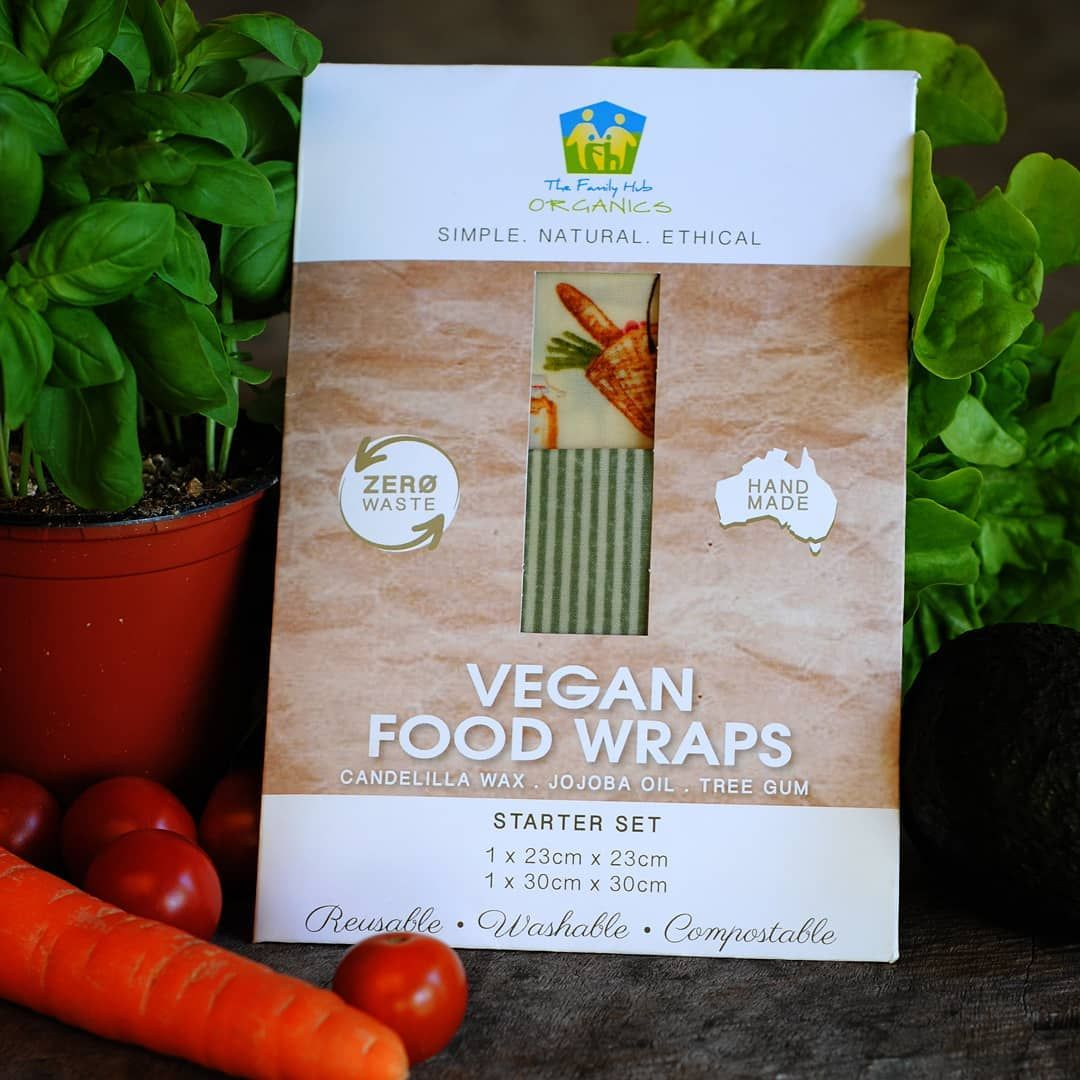 Family Hub Organics Vegan Food Wraps Starter Set
