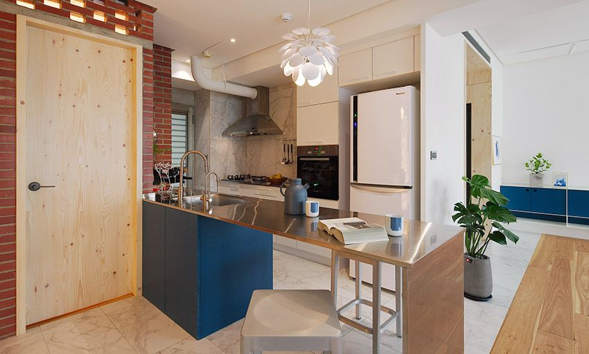 打造長居舒適宅!臺北 20 坪北歐風單身女子公寓 - DECOmyplace 新聞   Home decor, Furniture, Kitchen