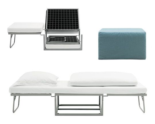 Small Space Furniture Boconcept Ottoman Fold Out Bed Small Space Living Small Spaces Furniture For Small Spaces