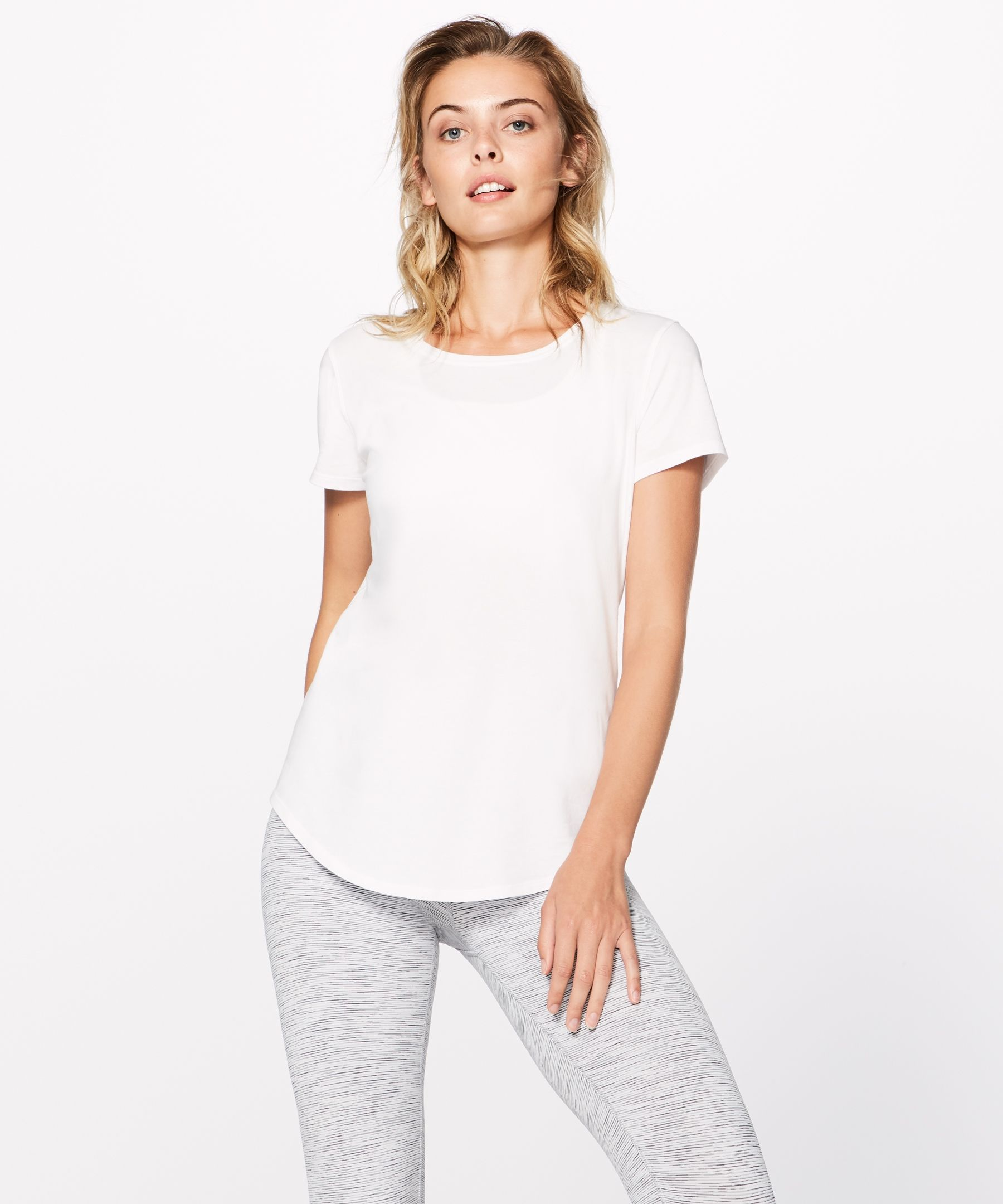 278b097f0ae lululemon Women's Love Crew III, White, Size 6 | Products in 2019 ...