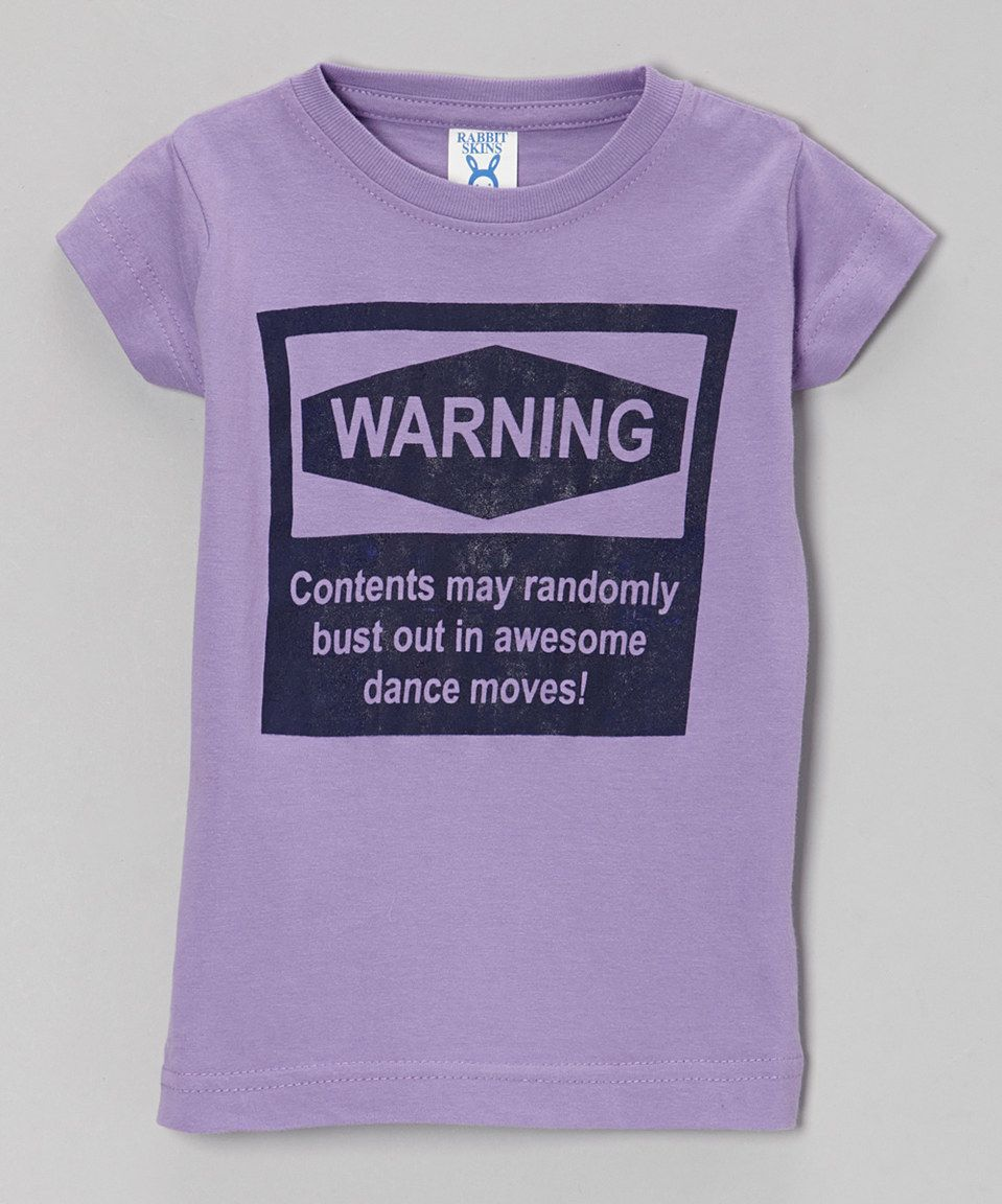 This Peanuts & Monkeys Lavender 'Awesome Dance Moves' Tee - Infant, Kids & Tween by Peanuts & Monkeys is perfect! #zulilyfinds