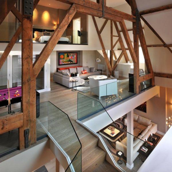 Fachwerk ? | Pinteres? Holzbalken Wohnzimmer Modern