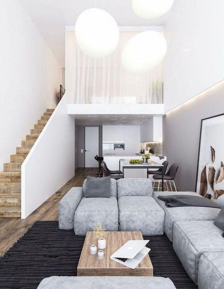 54 Creative Sleeping Areas For Open Plan Homes Design 52 Fieltro Net Loft House Tiny House Interior Loft Design