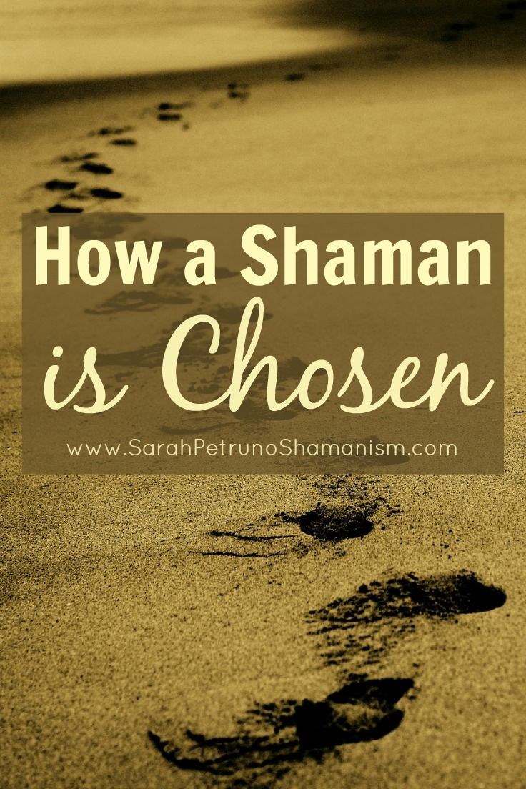 How to become a shaman