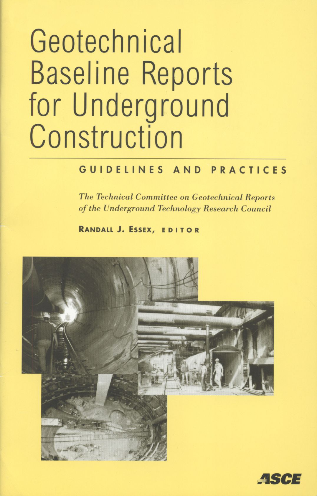 0xword Libros Geotechnical Baseline Reports For Underground Construction