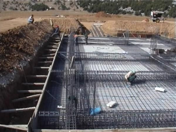 Raft Foundation Construction Constructions Foundation