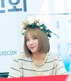 EXID - Hani #하니 (Ahn HeeYeon #안희연) at Busan fansign 160717 #팬사인회 #귀요미 #미니하트