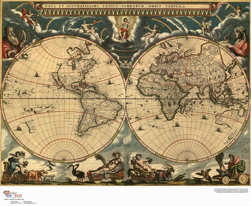 Lk mp 042 about retro vintage world map canvas oil painting cuadros lk mp 042 about retro vintage world map canvas oil painting cuadros decor wall gumiabroncs Choice Image