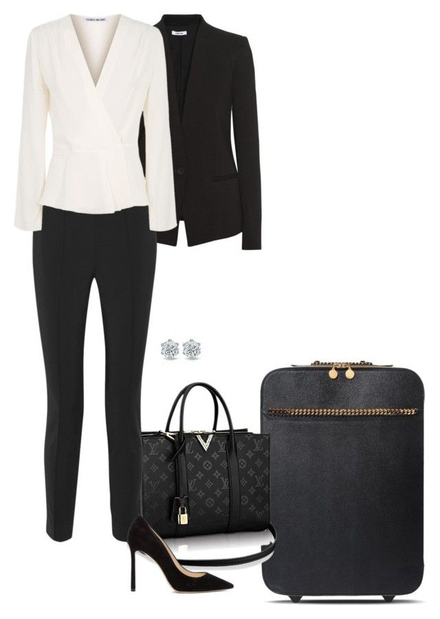 """""""Revisit."""" by foreverforbiddenromancefashion ❤ liked on Polyvore featuring STELLA McCARTNEY, Helmut Lang, Jason Wu, Elizabeth and James and Jimmy Choo"""