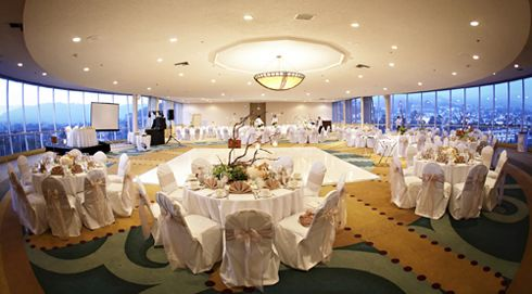 Top Of The Harbor Ballroom At Crowne Plaza Ventura Beach Hotel