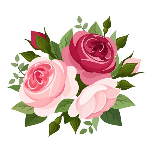 Download Elegant flowers bouquet vector 03 in EPS format