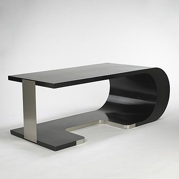 Coffee Table In Stainless Steel, Designed By Pierre Cardin In The