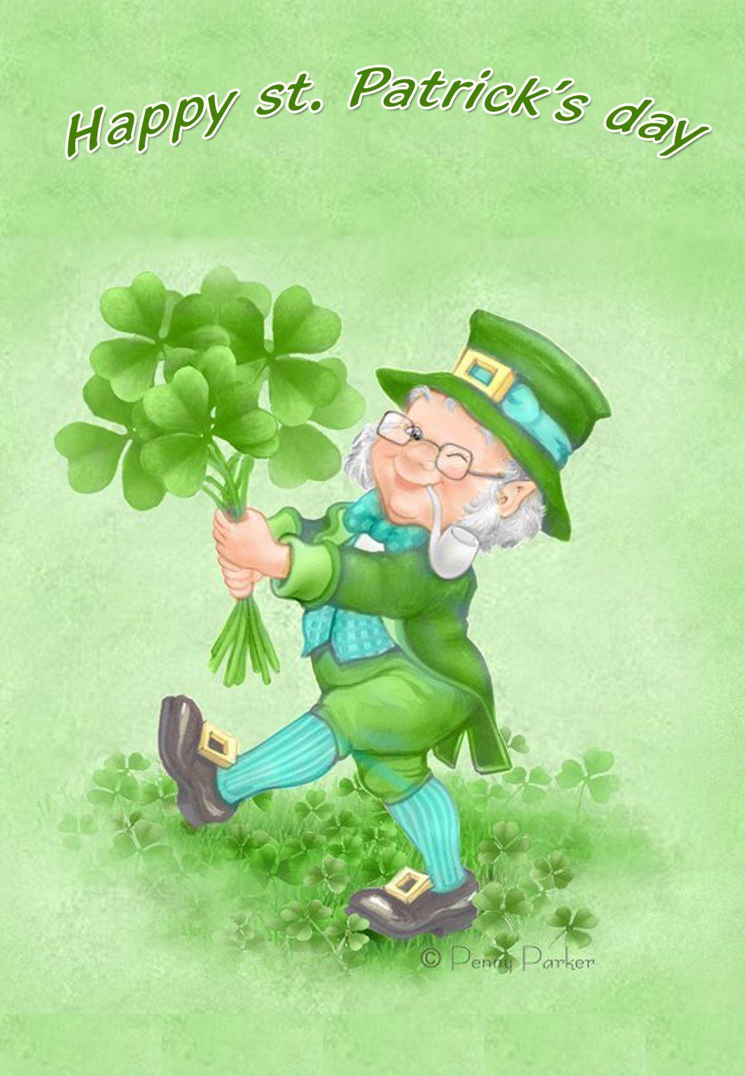 Free Printable Happy St Patricks Day Greeting Card