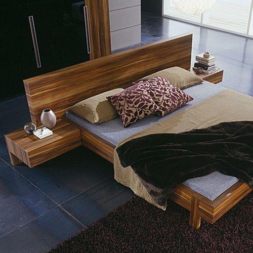 Http://www.yliving.com/ Gap Walnut Platform Bed 1502