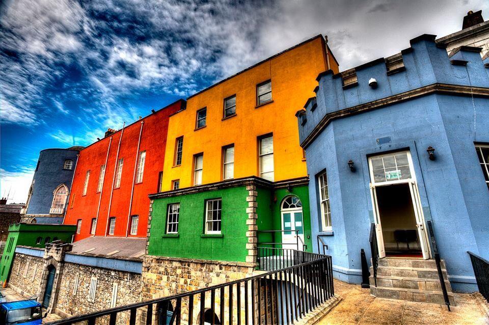 Dublin, Ireland Dublin castle, House colors, Colourful