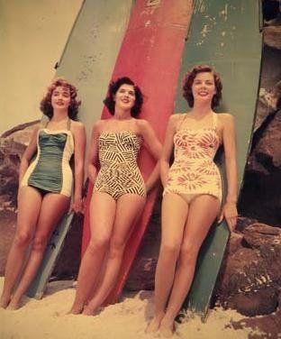 pin-up surfer girls
