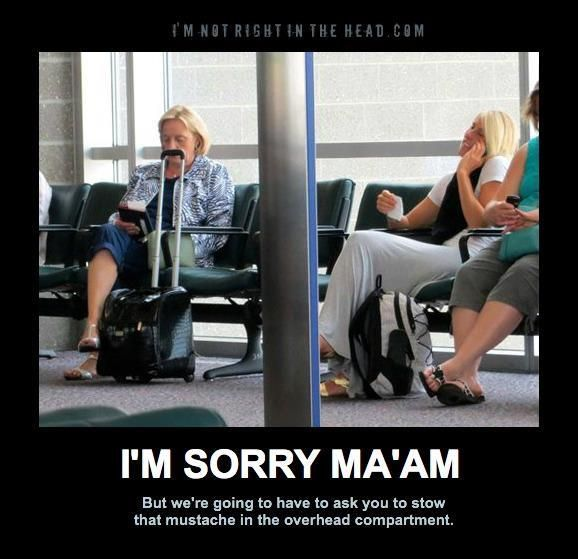I'm sorry Ma'am... - Bits and Pieces | Funny images, Like ...