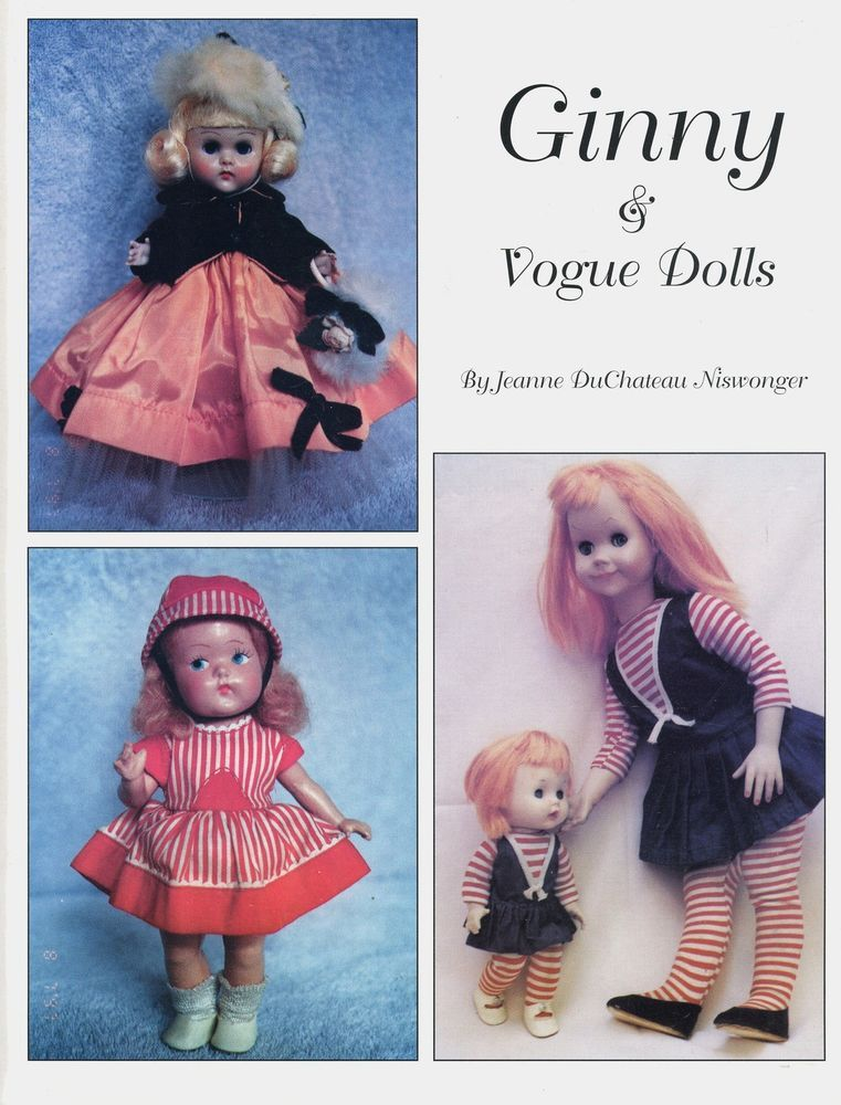 Vintage Ginny Vogue Dolls - Names Dates Descriptions / Illustrated ...