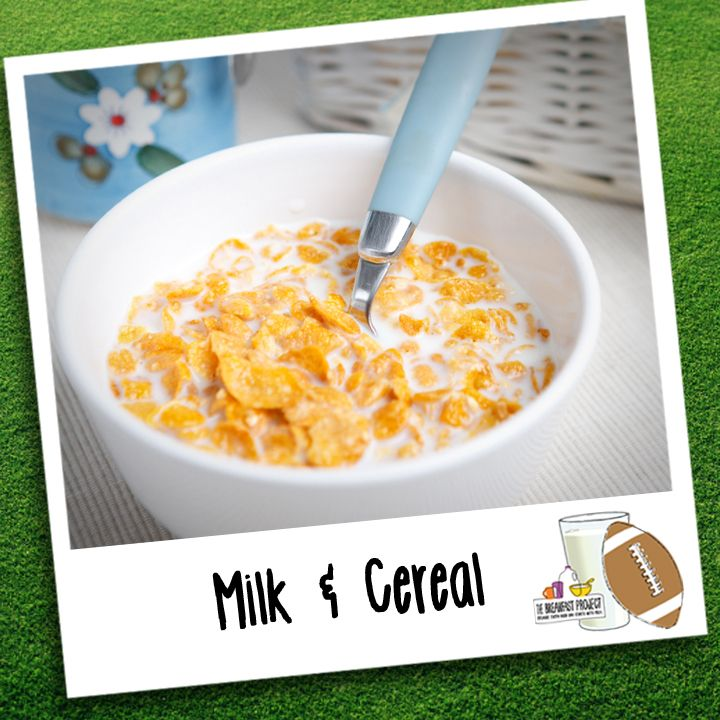 #BreakfastInASnap: A Bowl Of Milk And Cereal, The Perfect