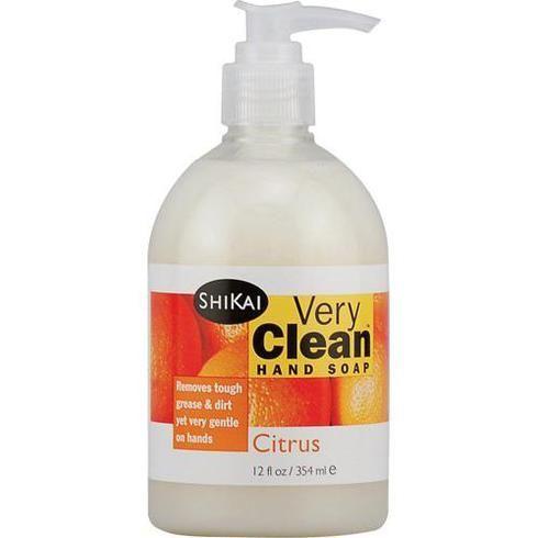 Shikai Products Hand Soap - Very Clean Citrus - 12 Oz