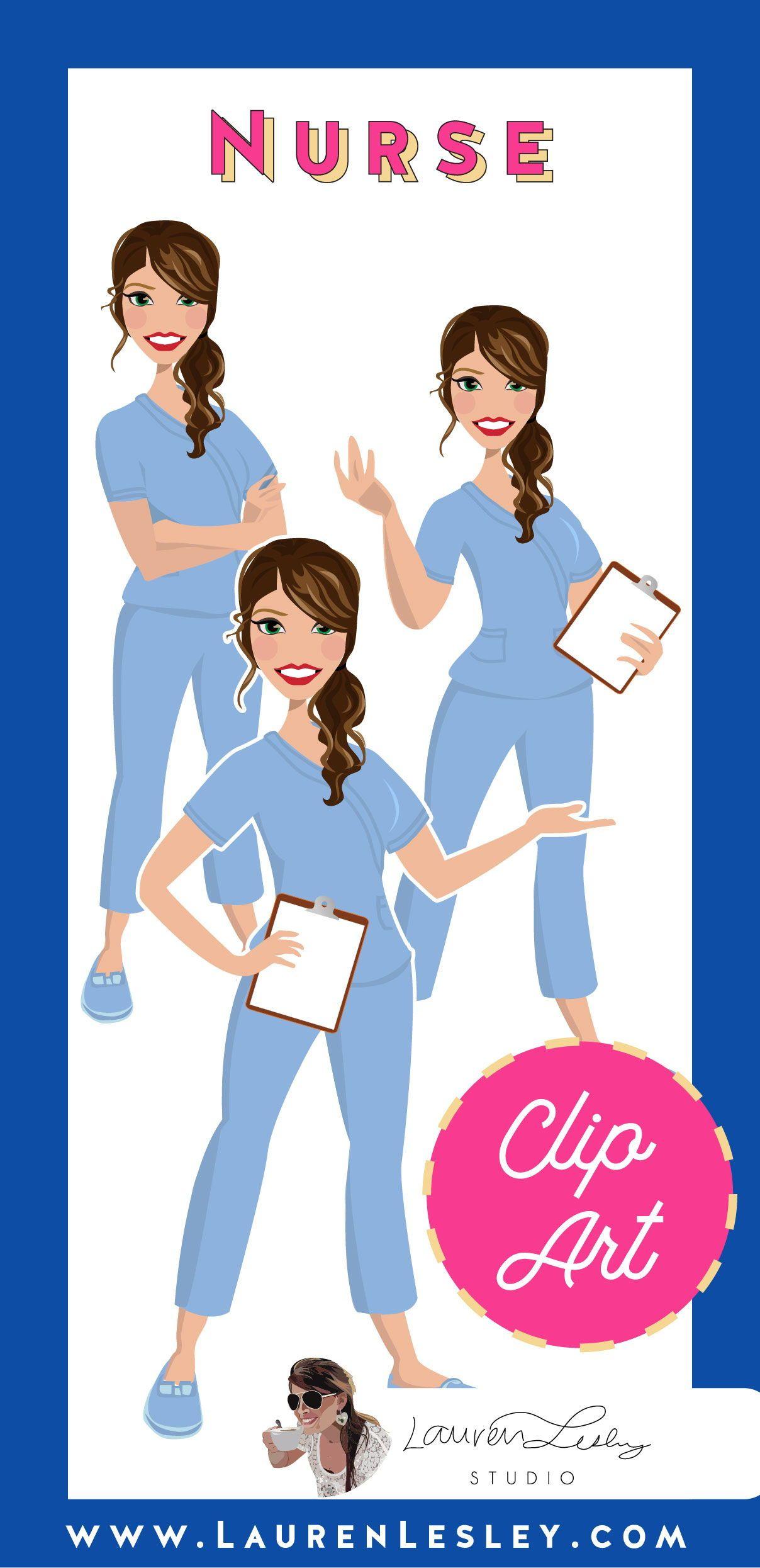 Nurse Clip Art Morning Glory Clip art, Nurse clip