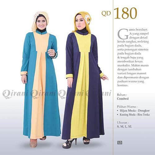 Baju Gamis Qirani Dewasa Model 180 Baju Gamis Pinterest Model