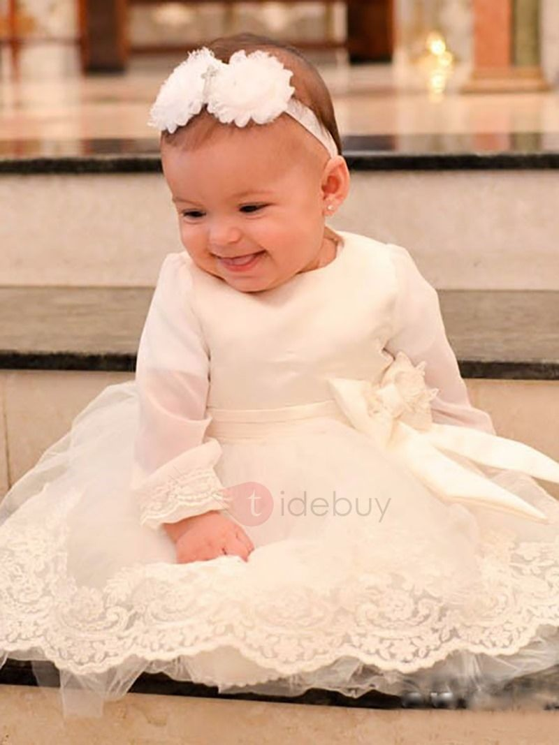 133aebd34 Tidebuy.com Offers High Quality Vintage Long Sleeve Appliques Christening  Gown for Infant Baby Boy Girl, We have more styles for Baby Girl's  Christening ...