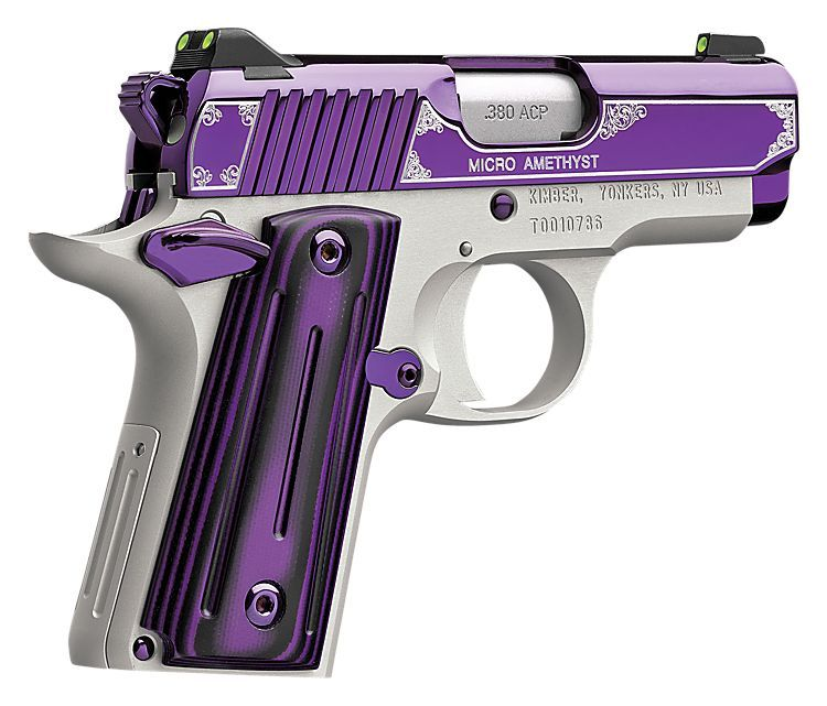 kimber amethyst ultra ii 45 acp special edition pistol
