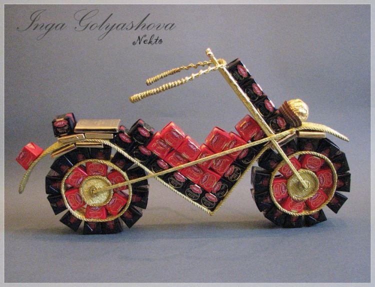 inspiration diy gifts candycars bikes planes kreative. Black Bedroom Furniture Sets. Home Design Ideas