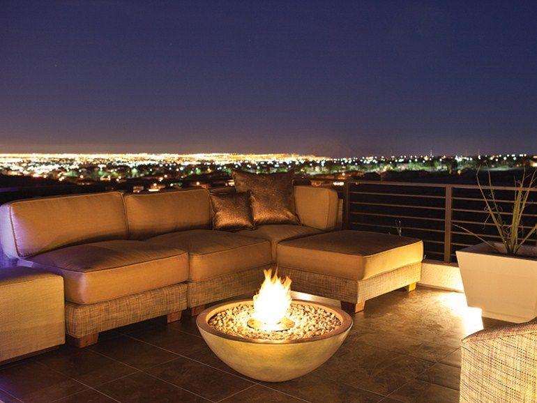 Bioethanol outdoor fireplace MIX FIRE BOWLS by EcoSmart Fire design Marc Veenendaal
