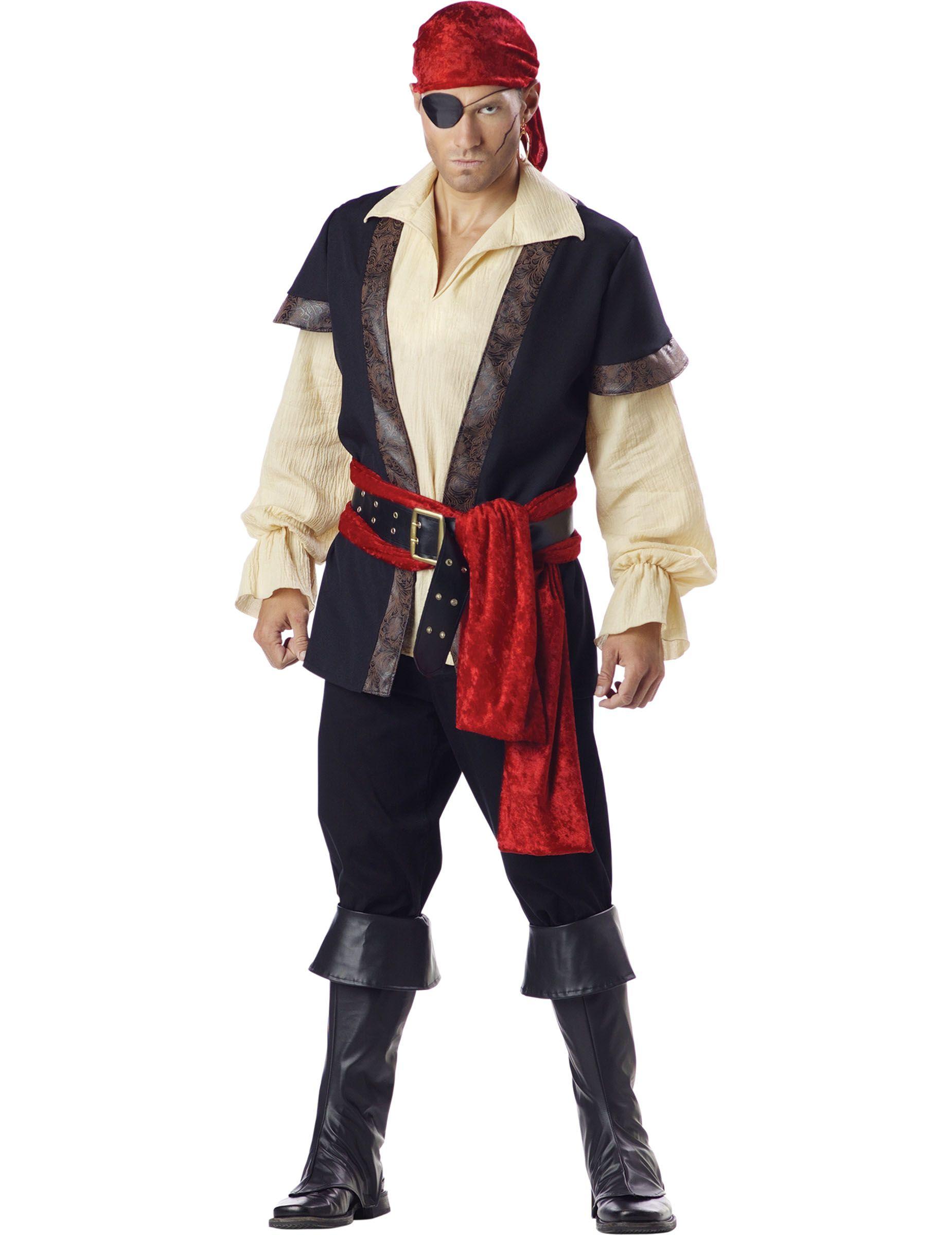 Disfraz De Pirata Hombre Premium Este Disfraz De Pirata Para Hombre Incluye Camiseta Cinturón P Disfraz De Pirata Disfraz De Pirata Mujer Disfraces Simples