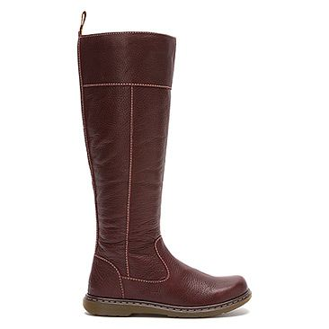 Dr Martens Haley Tall Boot Deep Mahogany Broadway