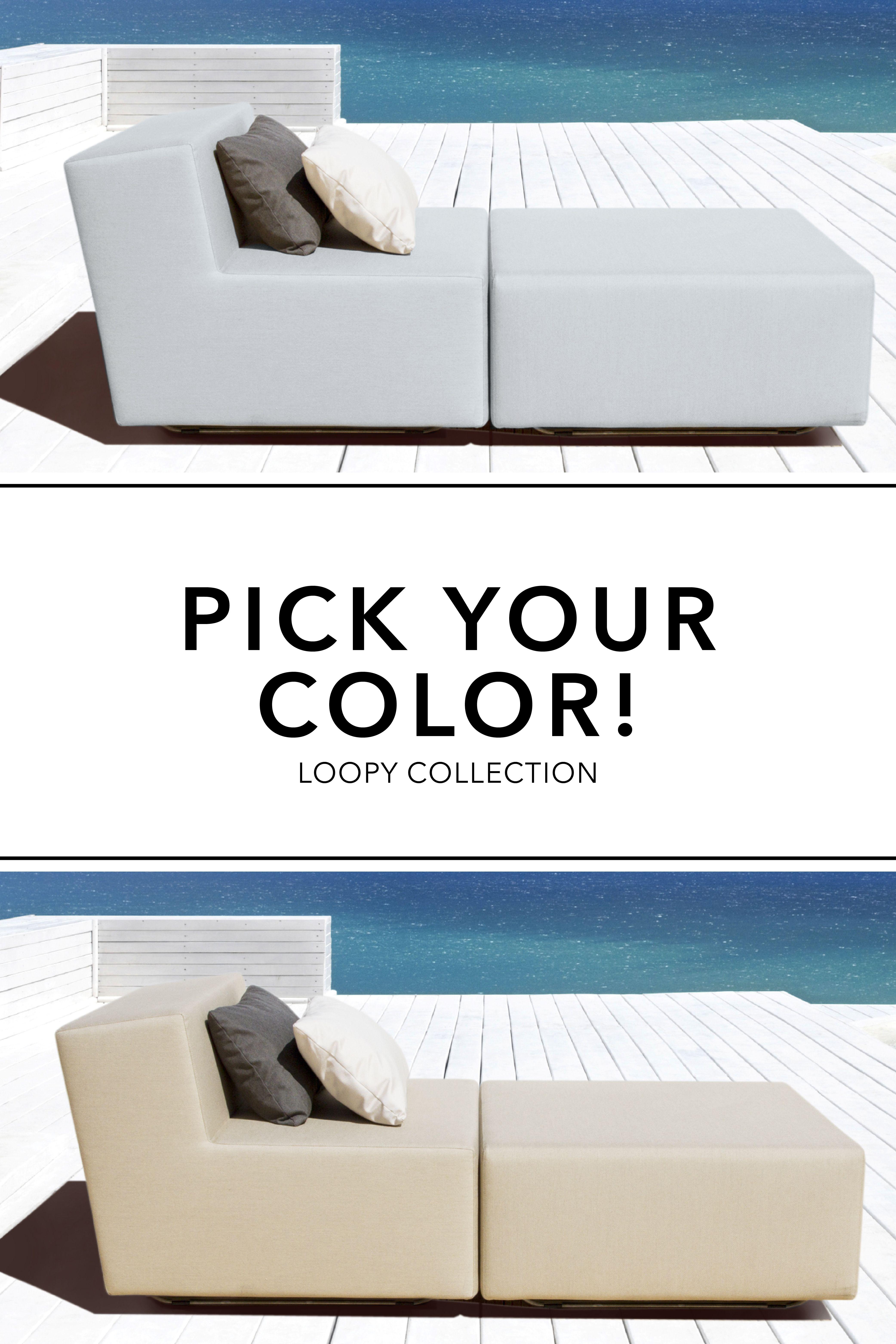 Pick Your Color Modular Outdoor Furniture Collection Loopy Mobelideen Lounge Gartenmobel Gartenmobel Sets
