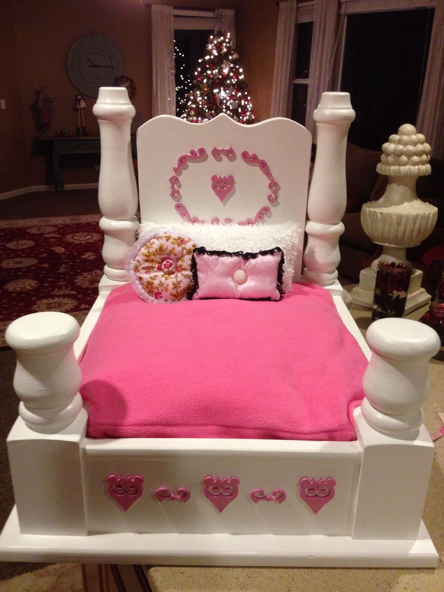 Dog Bed made from a end table BELLA Dog Stuff Pinterest