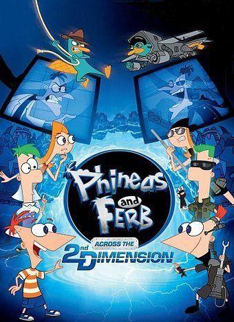 Phineas Y Ferb A Traves De La Segunda Dimension Con Imagenes