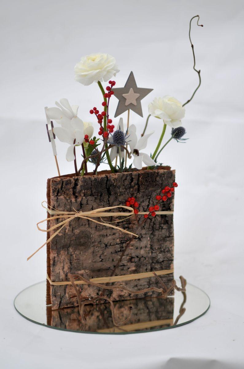 eKukan kukkavinkkinä tällä kertaa on koivuntuohineliöt, joiden väliin asetellaan kukkia.…