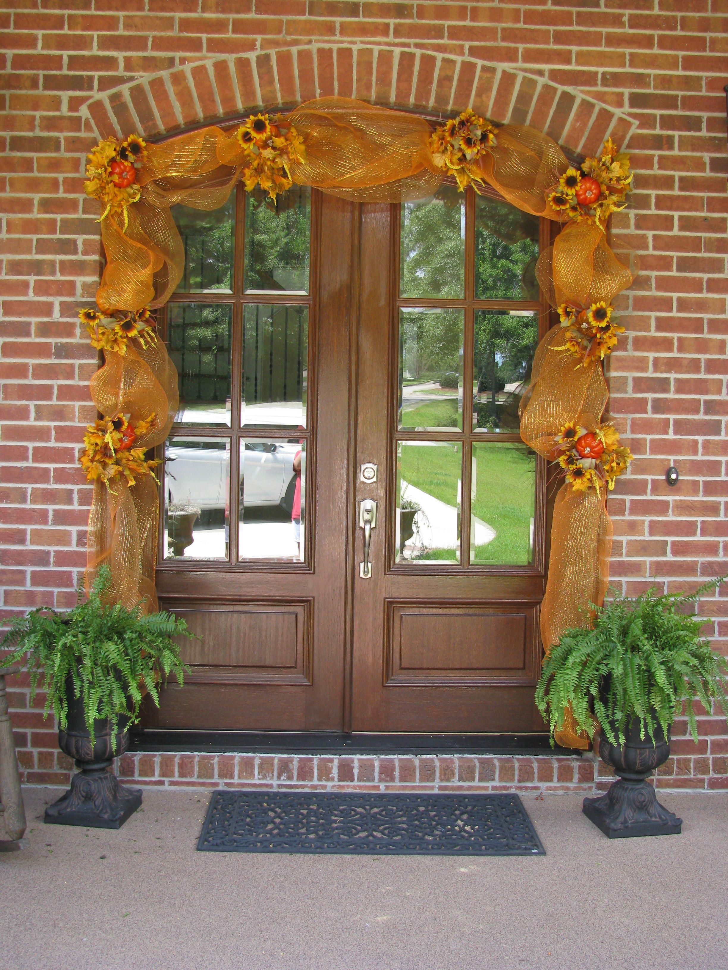 Fall Door Fall Doorholiday Funholiday Decorfall Craftsfront Porcheshappy Fallfall Halloweencurb