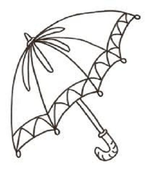 Free Umbrella Coloring Pages To Print Coloring Pages Umbrella