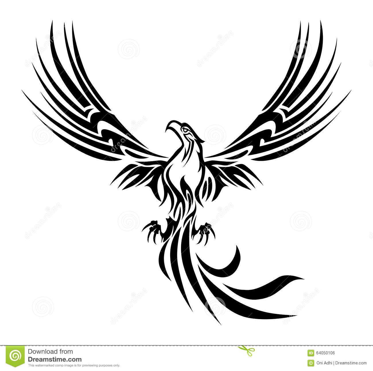 Phoenix Tattoo Stock Illustration Image 64050106 Tats Bro