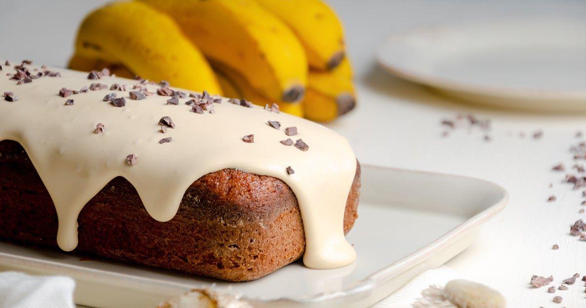 Bolo De Banana E Iogurte Com Creme De Doce De Leite Bolo De