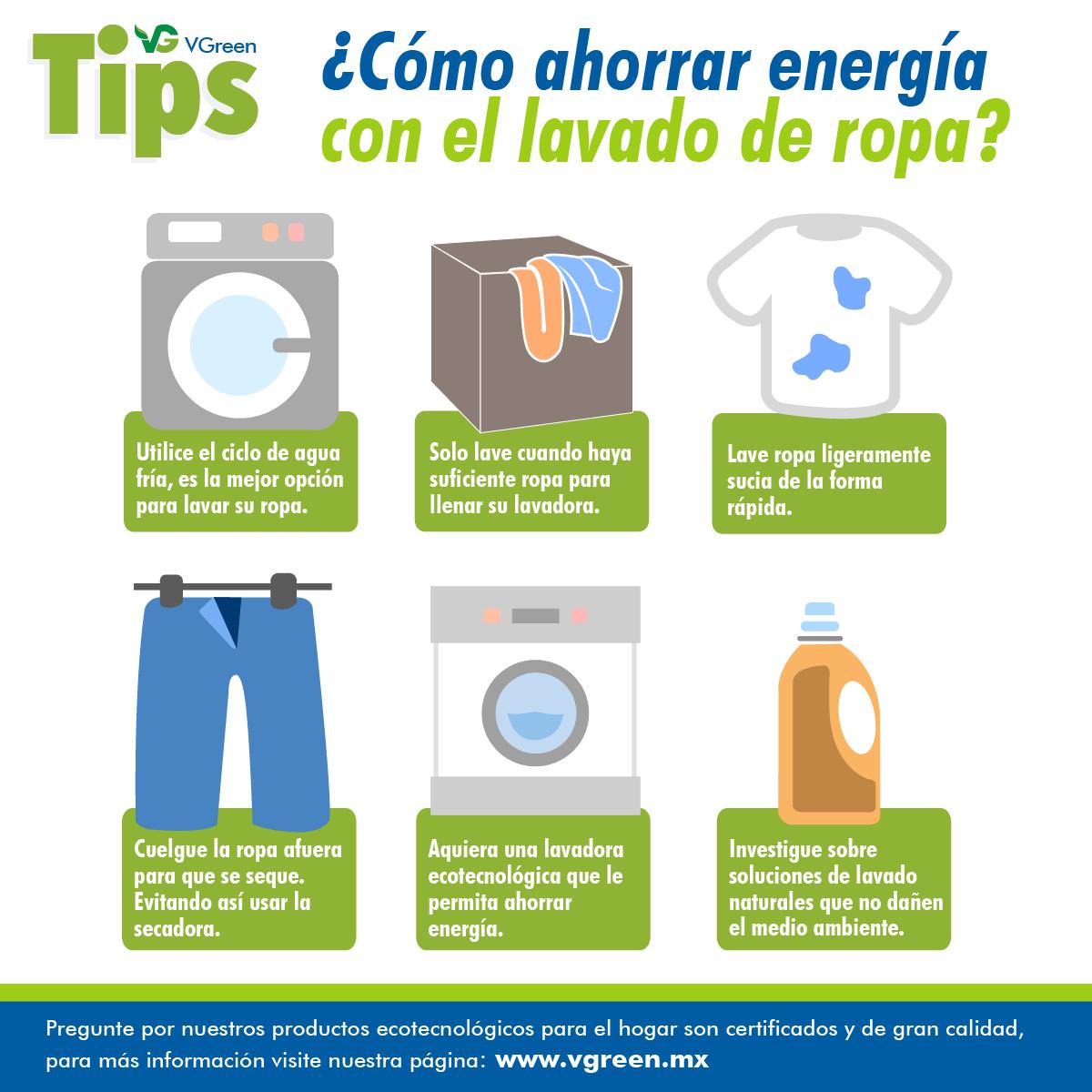 C mo ahorrar energ a con el lavado de ropa si conoce for Como ahorrar en la factura del gas