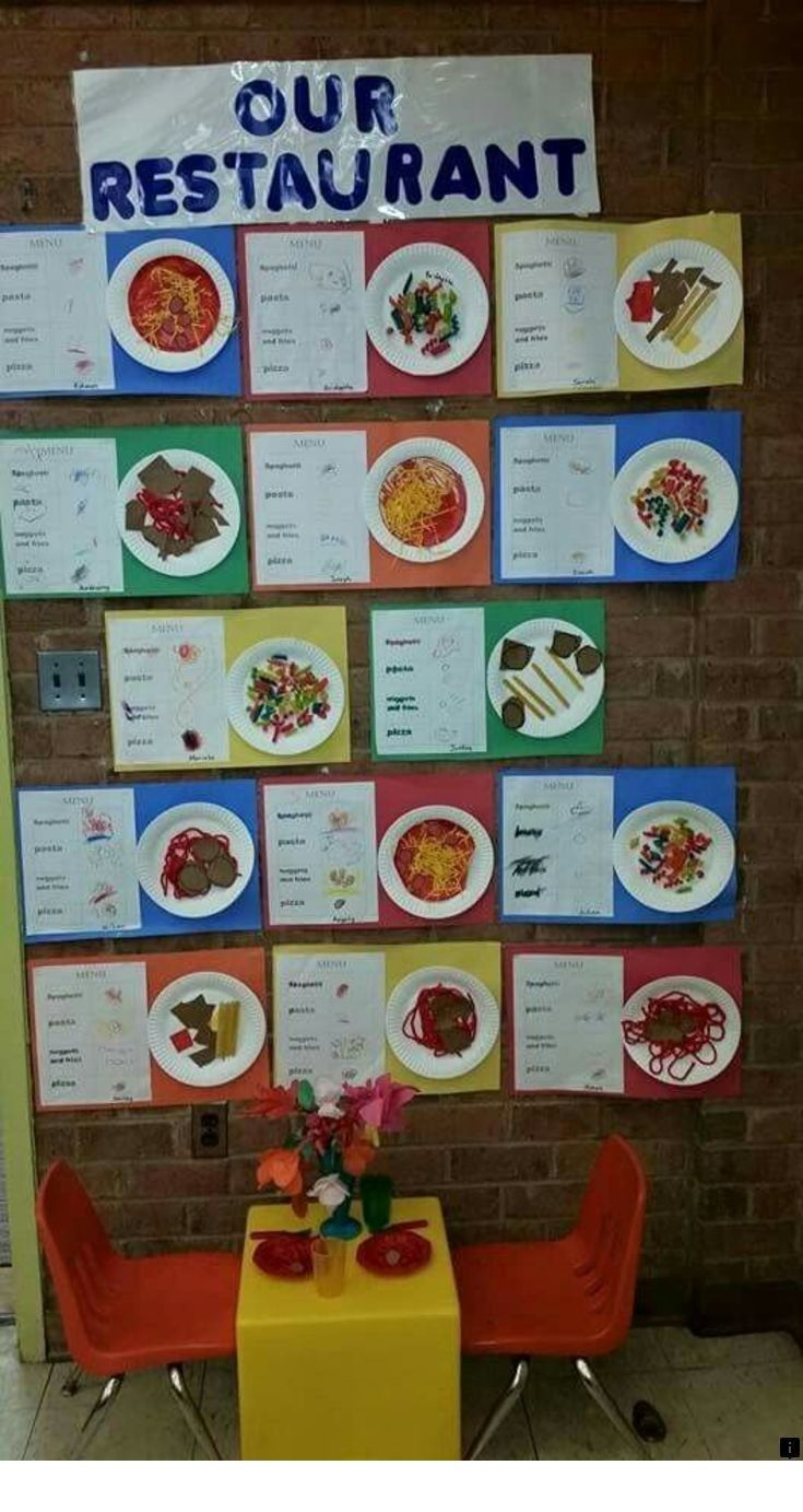<> Our web images are a must see!! is part of Restaurant theme preschool -