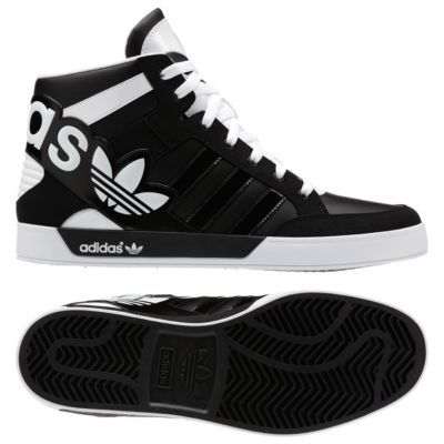 adidas Hard Court Hi Big Logo Shoes | Adidasskor