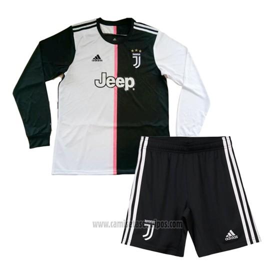 Comprar Camiseta Juventus Primera Manga Larga Nino 20192020