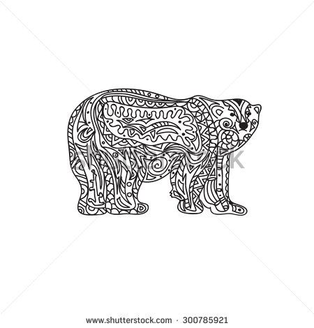 google polar bear coloring pages-#19